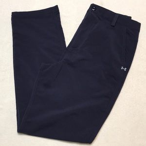 Boys Navy Under Armour Dress Pants